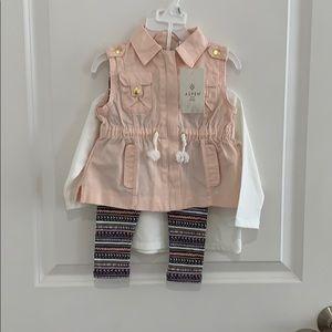 Aspen girl's 3 piece outfit